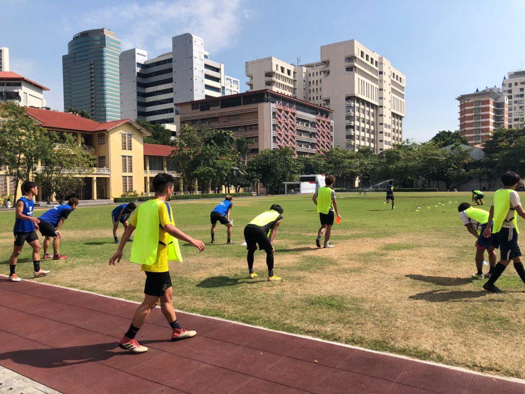 バンコクでのトレーニング