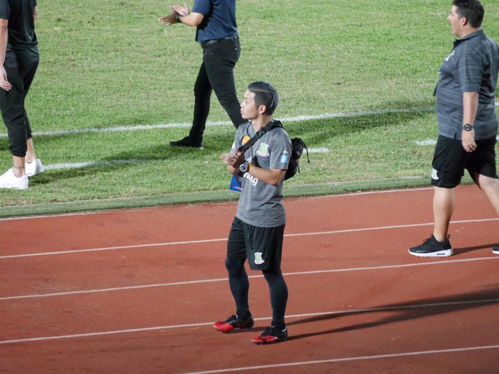 タイリーグで活躍する日本人トレーナー