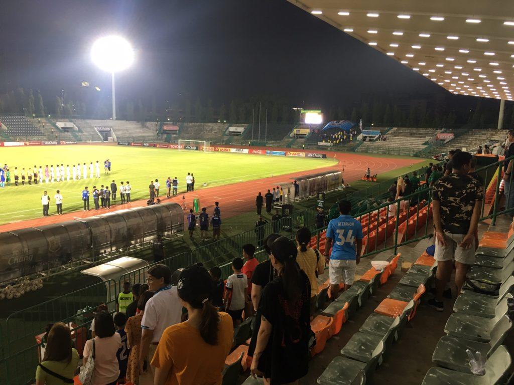 タイのサッカースタジアム