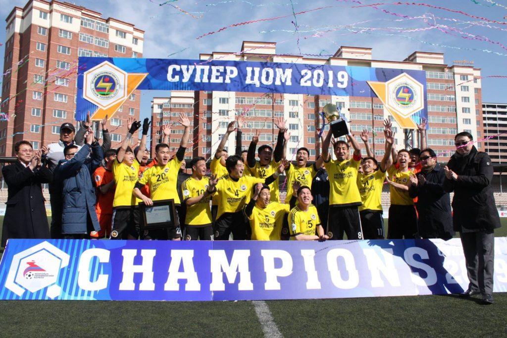 モンゴルサッカー王者のエルチムFC